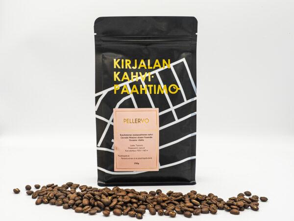Pellervo kahvi papuina